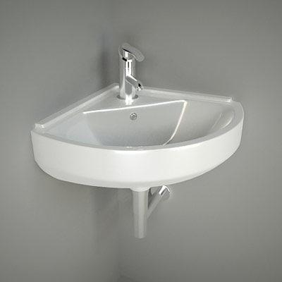 Corner Washbasins : Corner Washbasin