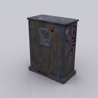 electric box 3d model