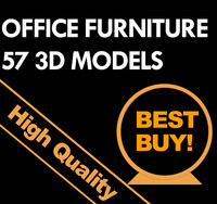 3d model office furniture