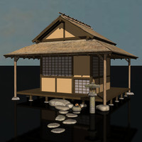 traditional japanese teahouse