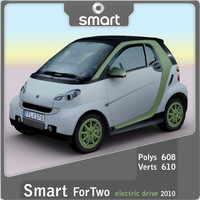 3ds max 2010 smart fortwo electric