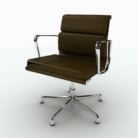 3d model of herman miller eames softpad