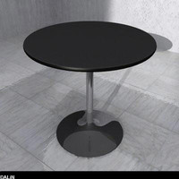 free bar table 3d model