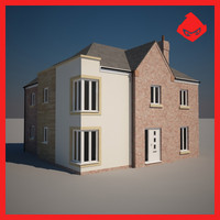 house domestic storey 3d model