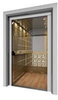 3d model elevator cabin