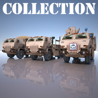 MILITARY TRUCK Collection 3 Model ( Pig )