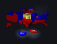 3d model united states political