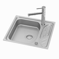 3d model of sink tap 01