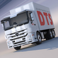 3d max new mercedes actros box
