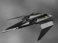 3d model of fighter corsair