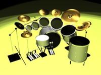 free max model drum set