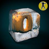 3d ice cube zero model