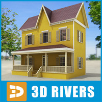 Small town house 46 by 3DRivers