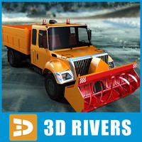 Snow removal vehicle 03 by 3DRivers