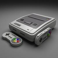 SNES 3D models
