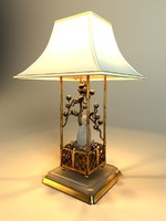 free banci desc lamp 3d model