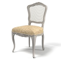 3d model classical stool