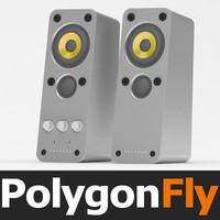 speakers 09 3d max