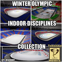 Winter Olympic Indoor Disciplines Collection