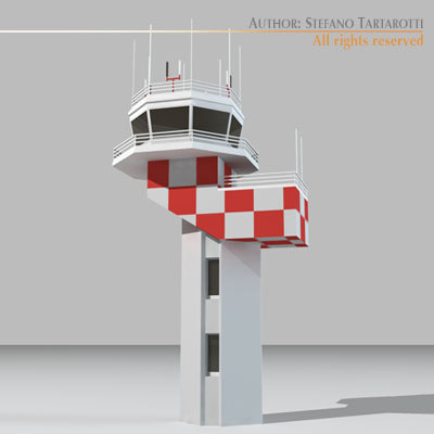 Airport control tower2