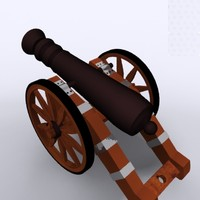 3dsmax cannon historical