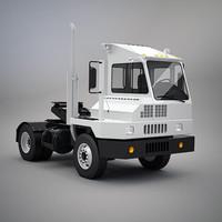 3d model yard truck
