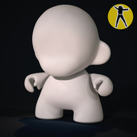 muuny vinyl toy 3d model