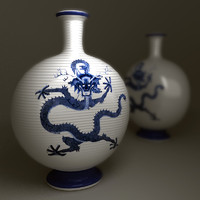Chinesse Dragon vase