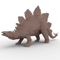 3d ma stegasaurus stegosaurus stegosaurid