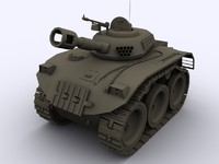 toon tank 3d model