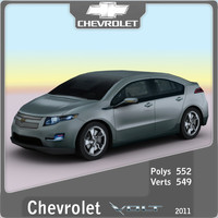 2011 chevrolet volt 3ds