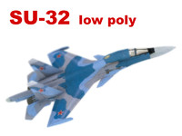 3ds sukhoi su-32 34 fighter