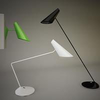 vibia cono lamp 3d model