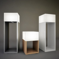 3d vibia kubika lamp lights