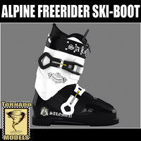 Alpine Freerider Ski-Boot
