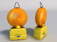 3d model portable beacon