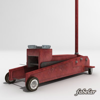hydraulic jack 3d model