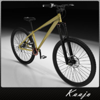 3d bicycle downhill hi model
