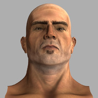 obj male figure musculature