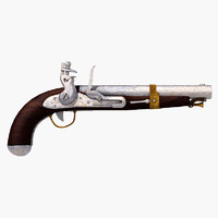 lightwave ancient flintlock pistol