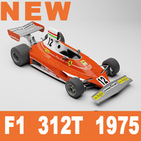 Ferrari F1 312T 1975 Lauda