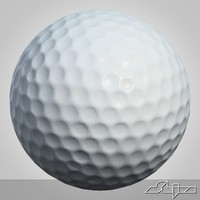 3ds max golfball golf ball