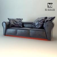 3d x fendi sofa
