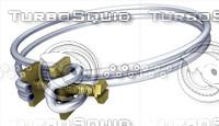 3d clamp model