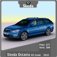 2010 Skoda Octavia RS Combi