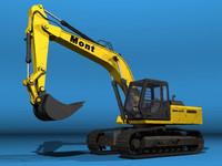 max excavator building
