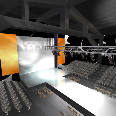 stage catwalk 2 3d max - Catwalk Stage 2... by Imagework