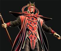 fantasy sorcerer warrior armor 3d max