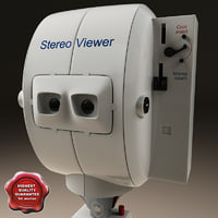 3d model coin-operated viewer