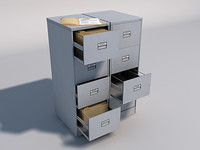 3ds max filing cabinet